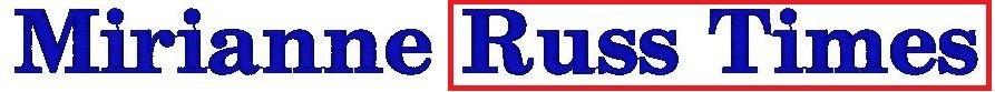 Monogram - výšivka - písmo - RUSS time new